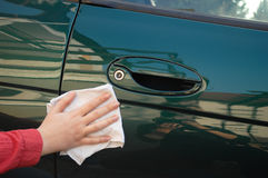 Car detailing Stock Image