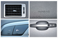 Car details Royalty Free Stock Photos