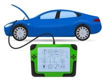 Car diagnostics test service Stock Photos