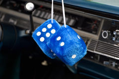 Car dice Royalty Free Stock Images