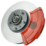 Car disc brake Royalty Free Stock Image