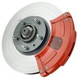 Car disc brake Royalty Free Stock Image