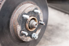 Car disc brake Stock Image