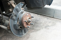 Car disc brake Stock Photos