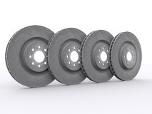 Car disc brakes Stock Photos