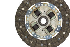 Car disc clutch on a white Stock Image
