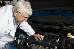 Car doctor Royalty Free Stock Image