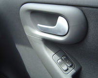 Car Door. Handle and switches Royalty Free Stock Images