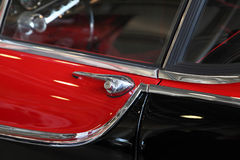 Car door handle Stock Image