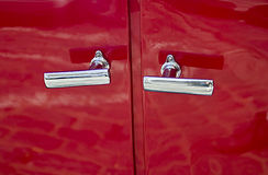 Car door handle Royalty Free Stock Photography