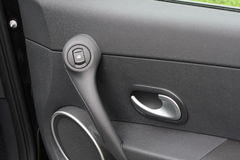 Car door with handle Royalty Free Stock Photography