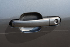 Car door handle Royalty Free Stock Photos