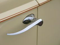 Car door handle.  royalty free stock photo