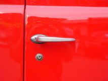 Car door handle.  stock photos
