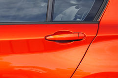 Car Door with Handle Royalty Free Stock Photo