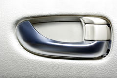 Car door handle. Stock Image