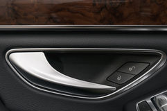 Car door handle. Royalty Free Stock Photos