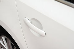 Car door handle. (canon 7D EF-S15-85mm f/3.5-5.6 IS USM Stock Image
