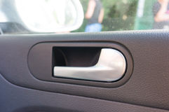 Car door handle Stock Photos
