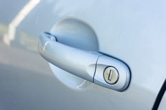 Car door handle Royalty Free Stock Image