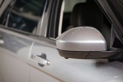 Car door handle Stock Photos