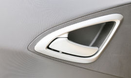 Car door handle Stock Photography