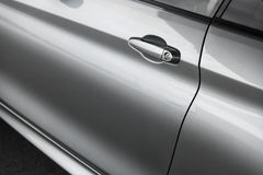 Car door handle Stock Image
