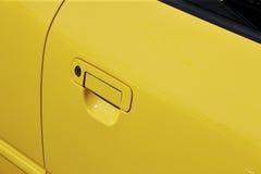Car door handle. Door car - detail of a luxury car stock photo