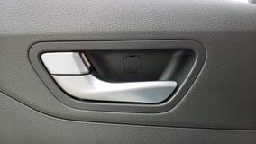 Car door handle for opening the door.  royalty free stock photos
