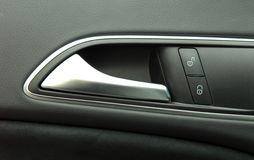 Car door handles and central locking Royalty Free Stock Photos