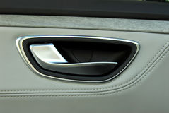 Car door handles Royalty Free Stock Image