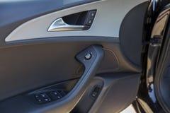 Car door inside Stock Image