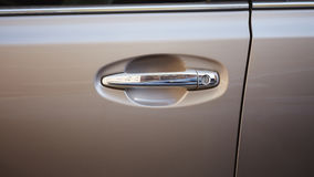 Car door knob Stock Image