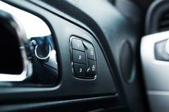 Car Door Lock Closeup Stock Images