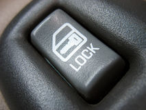 Car door lock switch Stock Photos