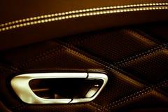 Car door opener Stock Photo