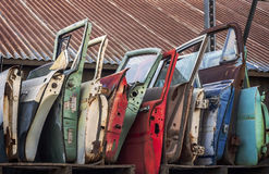 Car Doors Stock Image