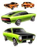 Car drawings Royalty Free Stock Photo