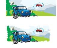Car dream. Illustration of the old car royalty free illustration