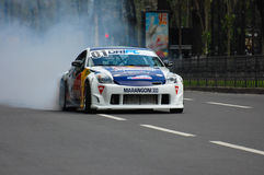 Car drift Stock Photo