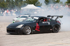 Car drift Royalty Free Stock Images