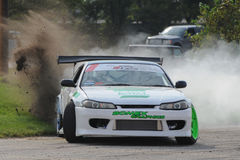 Car drift Stock Photography