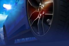 Car Drifting Concept Stock Photos