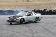 Car drifting Stock Photos