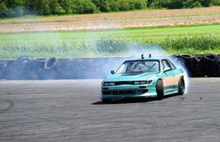 Car drifting Stock Photo