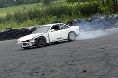 Car drifting Stock Image