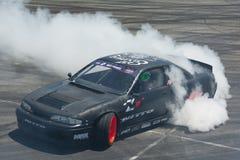 Car Drifting Presentation Stock Images