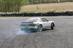 Car drifting Stock Photography