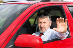 Car driver Royalty Free Stock Images