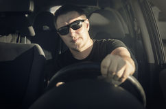 Car driver Stock Photography